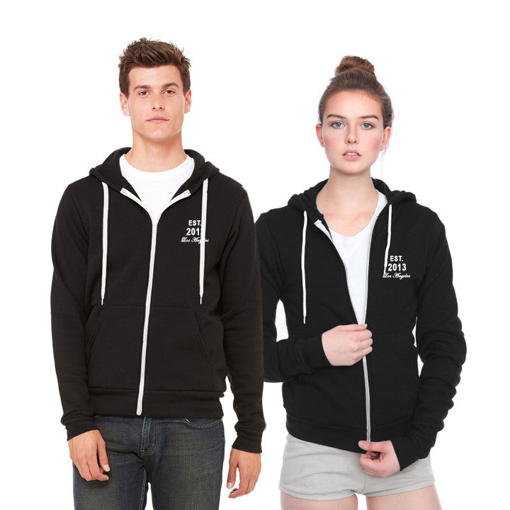 OFFICIALLY ADDICTED HOODIE | UNISEX | BLACK