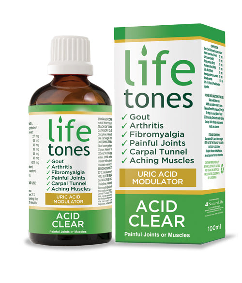 Lifetones Gout Remedy Tones Family Health