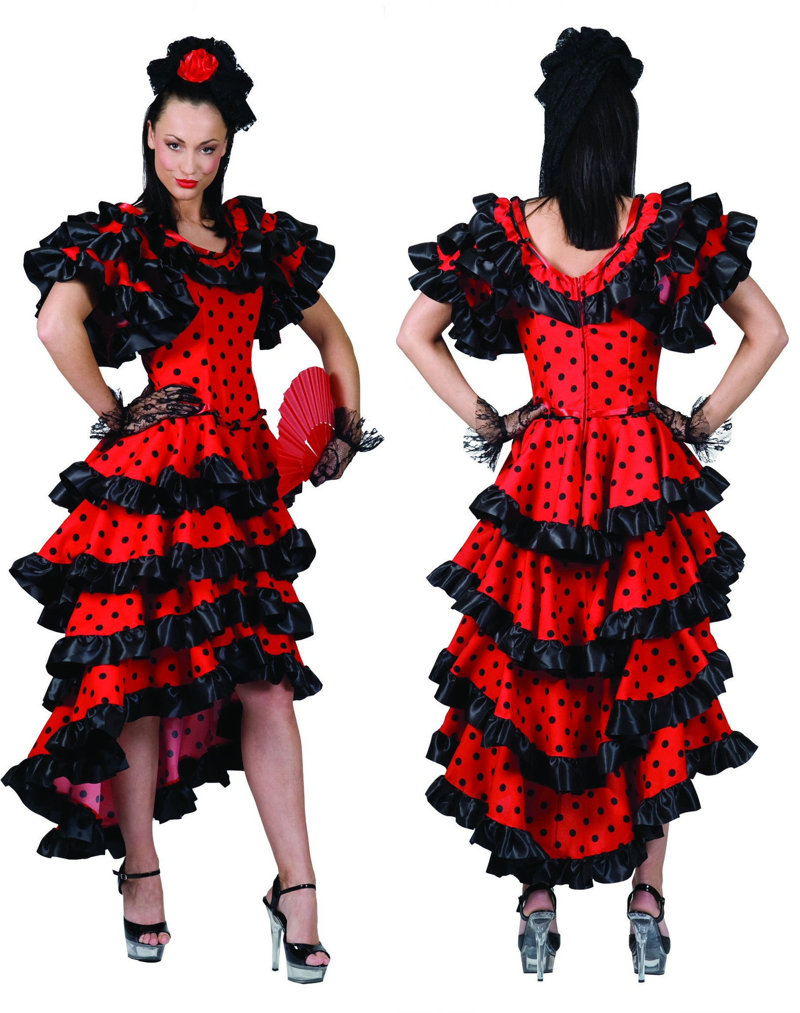buy popular c2ec5 3171e Costume da Spagnola
