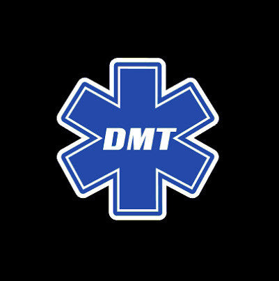 DMT Diver Medic Star of Life Decal Sticker