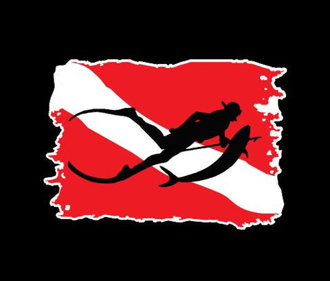 Dive Flag Spear Fishing