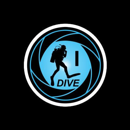 I Dive Scuba sticker