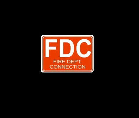 FDC Fire Department Connection