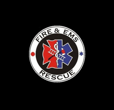Fire & EMS Rescue Sticker