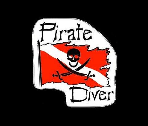 Dive Pirate Decal