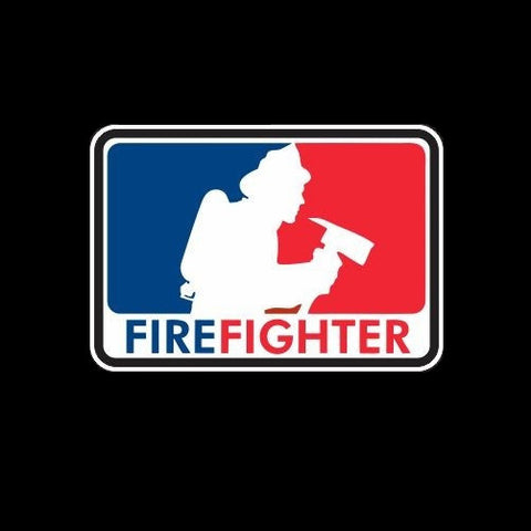 Firefighter baseball style