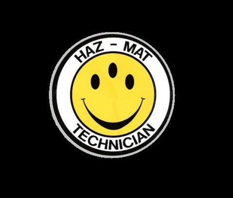 3 eyes Hazmat Technician decal