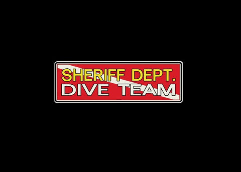 Sheriff Dept. Dive Team