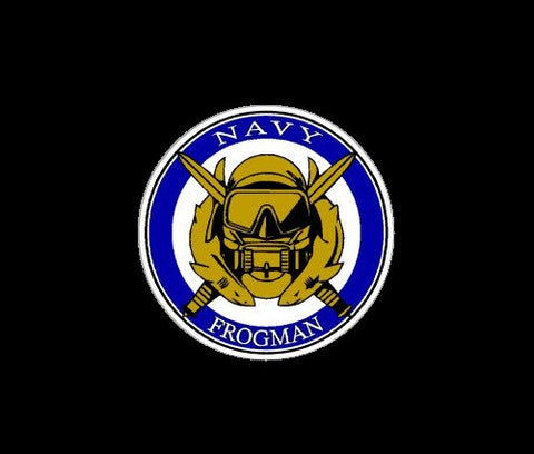 Frogman Navy Special Operations Decal / Sticker