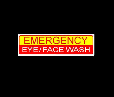 Emergency Eye Face Wash