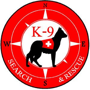 K9 Search and Rescue Red