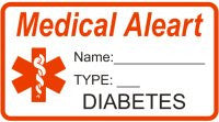 Medical Aleart Diabetes / Diabedic