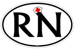 RN Registered Nurse Decal