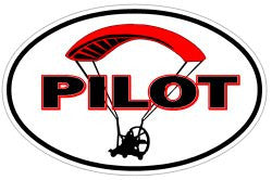 Powered Parachute Paraplane Paraglider Decal