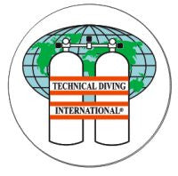 Technical Diving Int. Decal