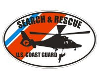 U.S. Coast Guard Search & Rescue Decal