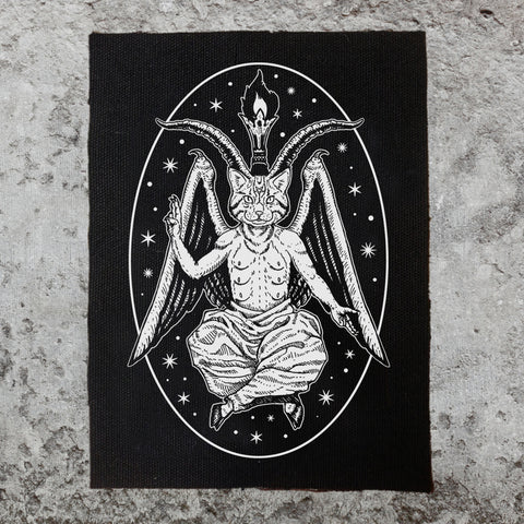 Baphomeow Back Patch