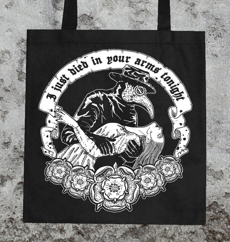 Died In Your Arms Tote Bag