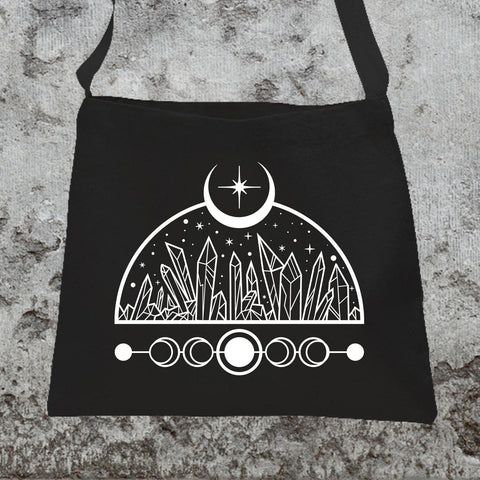 Light of The Moon Messenger Tote Bag