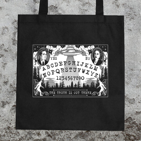 X-Files Ouija Board Tote Bag