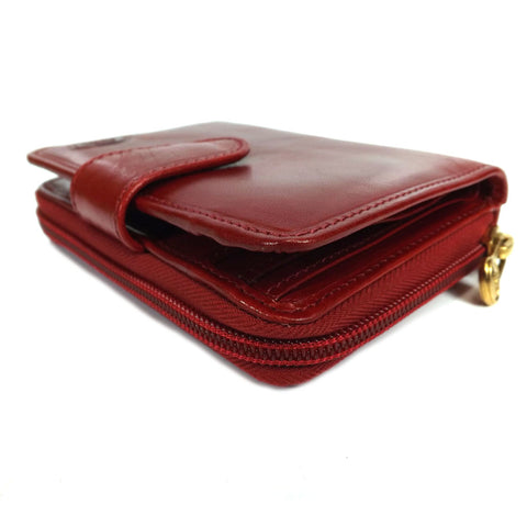 The Bridge Classic Purse - Red - Style: 01783801