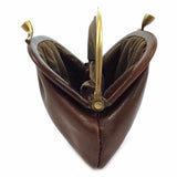 The Bridge Leather Clip Top Change Purse - Style: 01308801