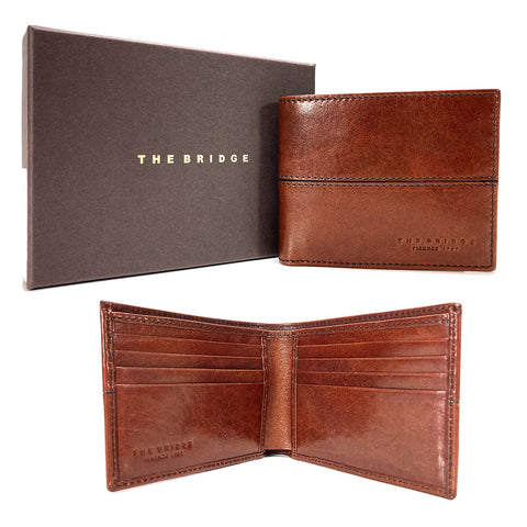 The Bridge Leather Wallet - Style: 01461001