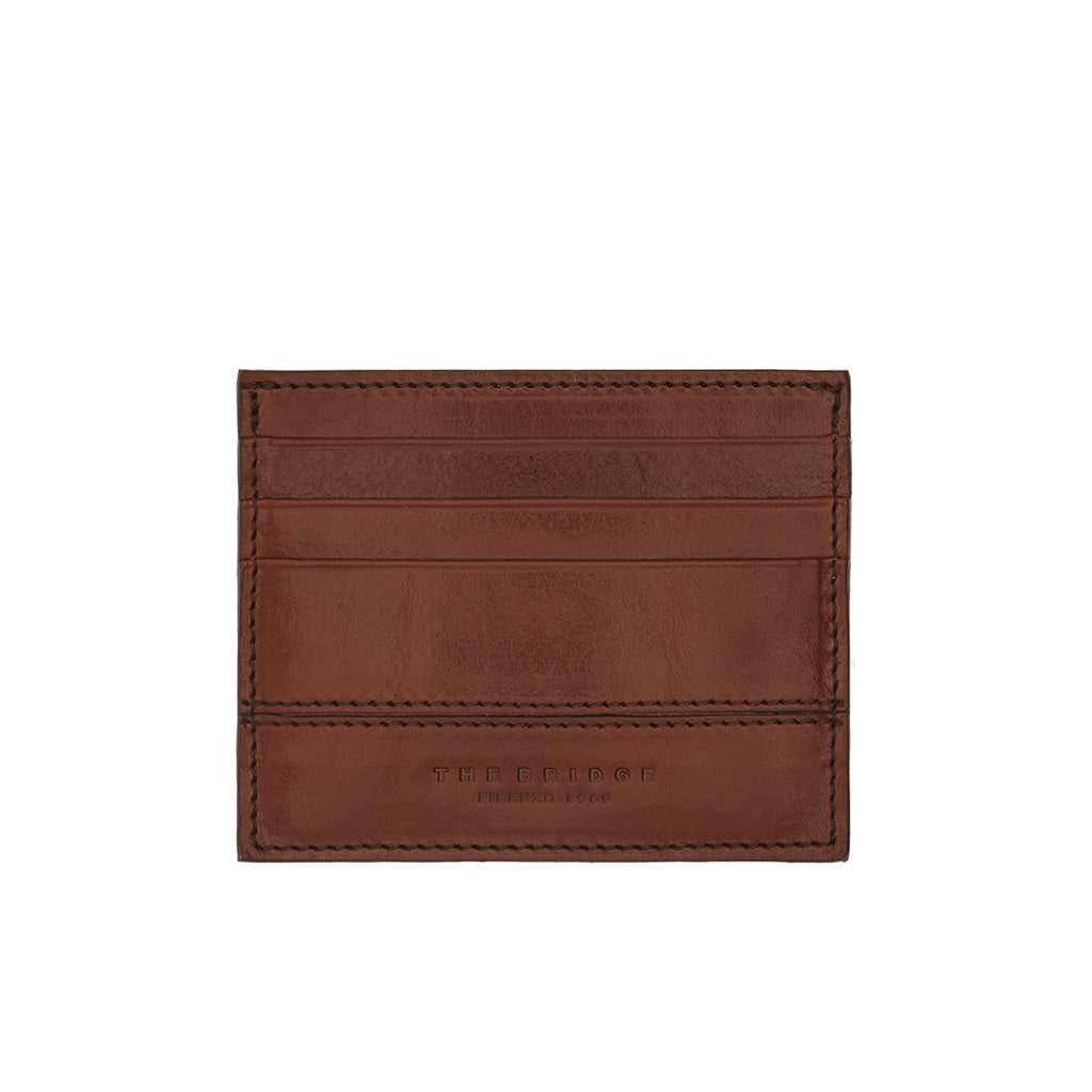 The Bridge Leather Credit Card Holder- Style: 01475001