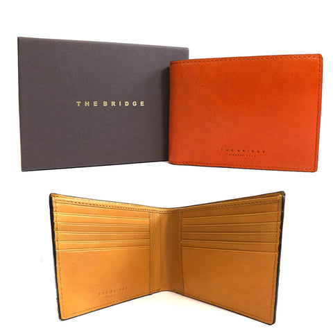 The Bridge Trouser Wallet - Style: 0148181X - Orange Tan