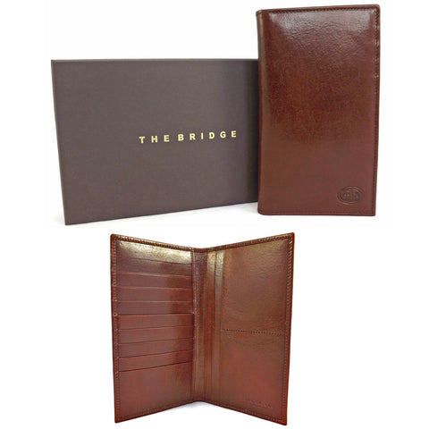 The Bridge Leather Jacket Wallet - Style 01502201