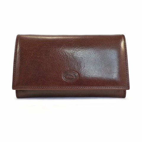 The Bridge Large Leather Wallet Purse - Style: 01774201