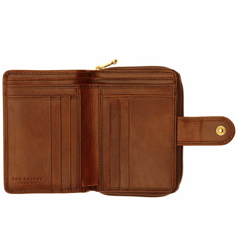 The Bridge Classic Purse - Brown - Style: 01783801