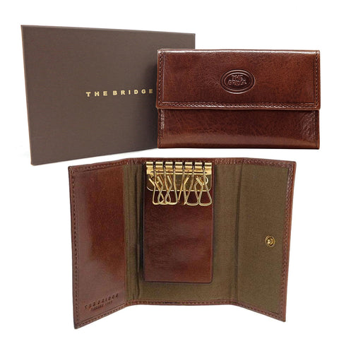 The Bridge Leather Key Case - 6 keys - Style: 01801601