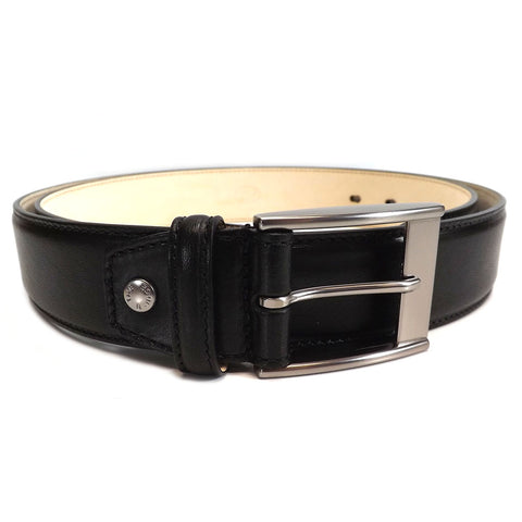 The Bridge Gents Leather Belt - Style: 03621301 - Black