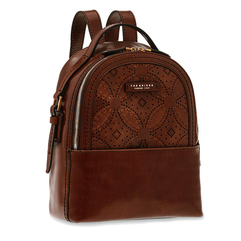 The Bridge Medium Backpack Bag - Style: 0412474V