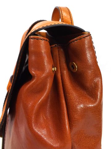 The Bridge Medium Backpack Bag - Style: 0415184N