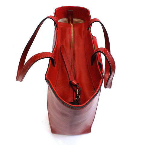 The Bridge Shopper Tote - Style: 0437894N - Red