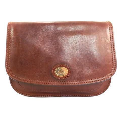 The Bridge Classic Leather Flap over bag - Style 04402201