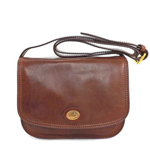 The Bridge Classic Leather Flap over bag - Style: 04402201