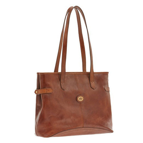 The Bridge Zip Top Shoulder Tote - Style: 04814201