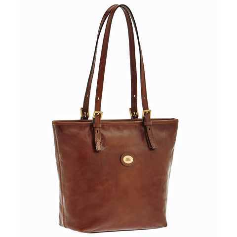 The Bridge Zip Topped Tote Bag - Style : 04901501
