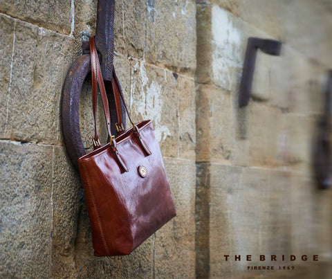 The Bridge Zip Top Tote Bag - Style: 04902501
