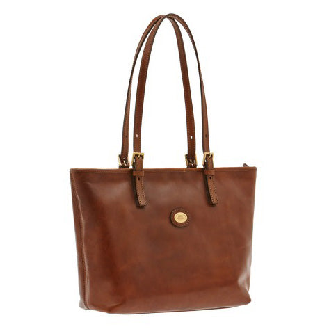 The Bridge Zip Top Tote Bag - Style: 04903501