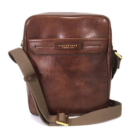 The Bridge Across Body or Shoulder Man Bag - Style: 0541106O