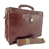 The Bridge Double Gusset Briefcase - Style: 06434901