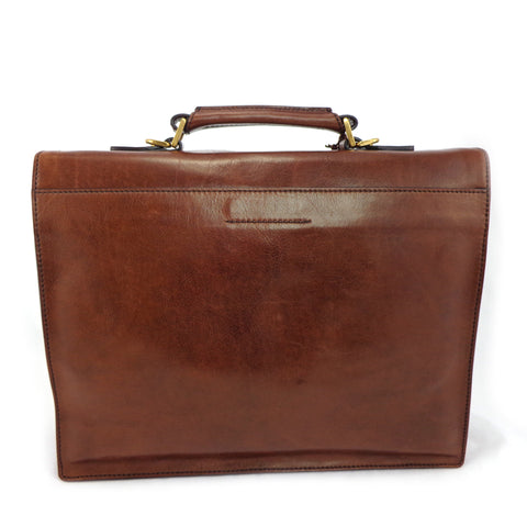 The Bridge  Double Gusset Briefcase - Style: 06467501