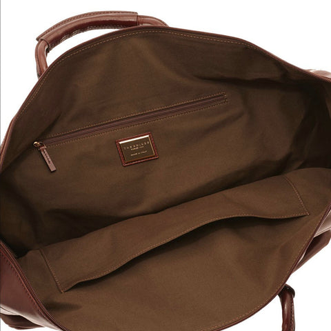 The Bridge Leather Travel Bag- Style: 07522001