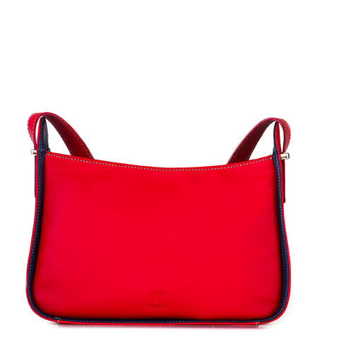 Mywalit Zip Top Across Body Bag - Style 2141-25 Red