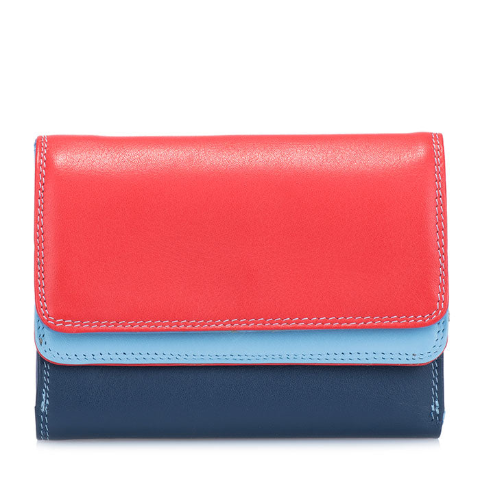 Mywalit Double Flapover Purse - Style 250-127 Royal