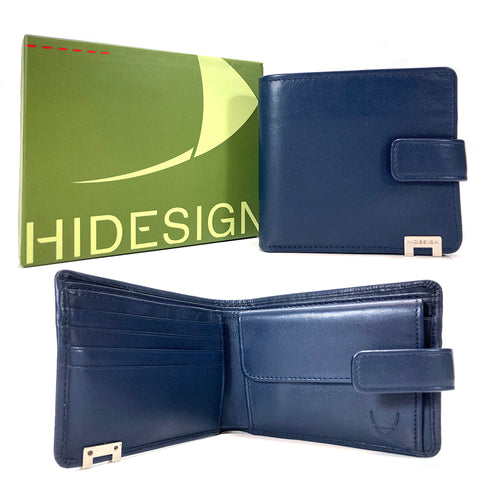 Hidesign Ranch Tab Wallet - Style: 268-010 Blue